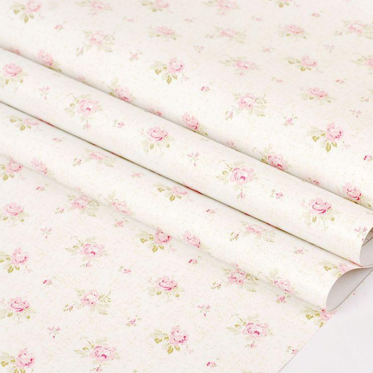 Best Rustic Fresh Small Flower Pvc Wallpaper Bedroom Wallpaper 400 x 300