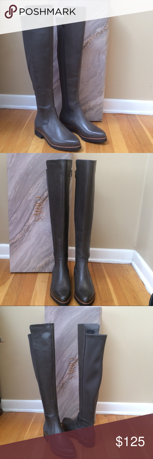 5dec4f2b4c6 FRANCO SARTO Benner Over the Knee Leather Boots FRANCO SARTO  Benner  Over  the Knee