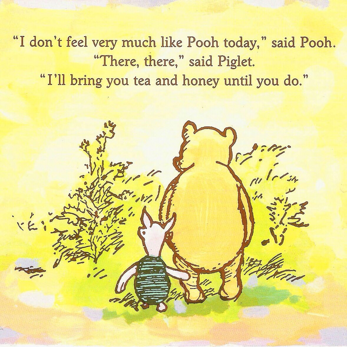 Lets Have The Afternoon Tea  Winnie The Pooh Quotes -6092