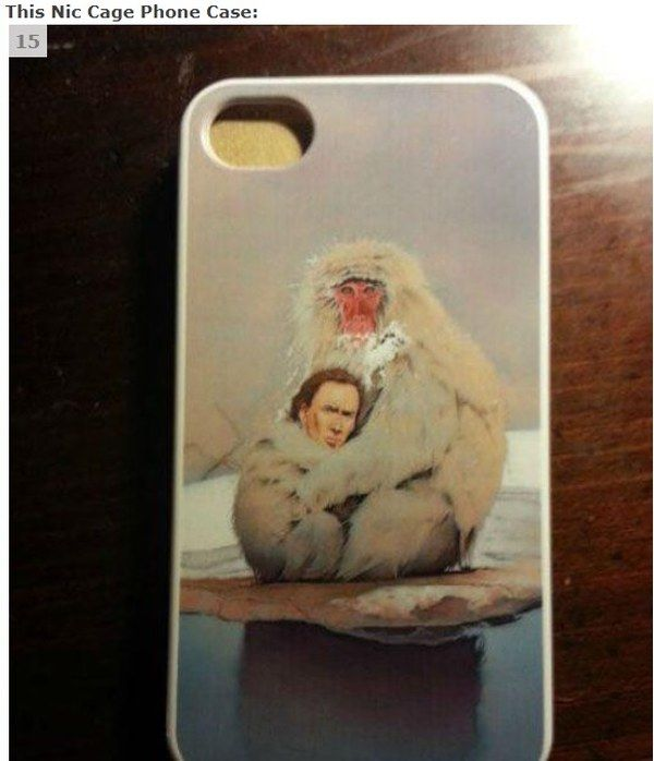15 Weird Things Nicolas Cage Phone Case | The Cage Page (in honor ...