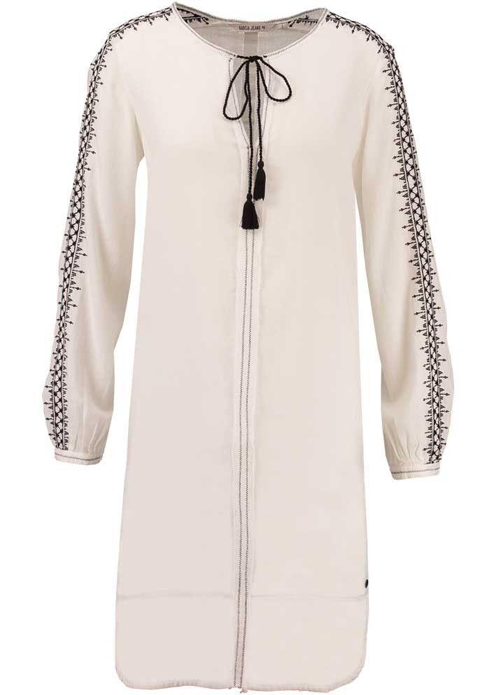4c59175c7ebe Garcia Cremefarvet Kjole E70082 Ladies Dress - off white