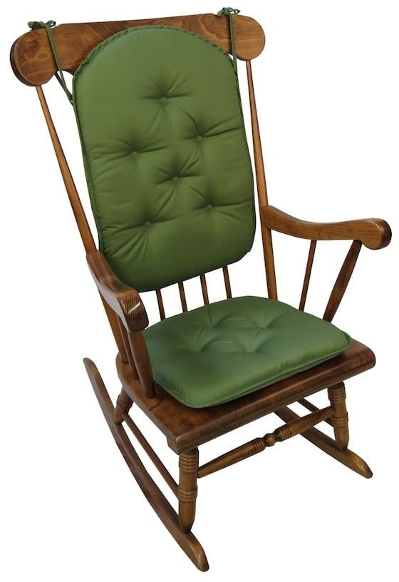 rocking chair cushions kohls recliner height risers the gripper twill 2 pc pad set products pinterest kohl s