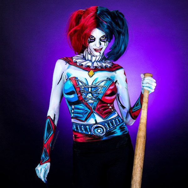 Watch: Artist Uses Body Paint To Transform Herself Into