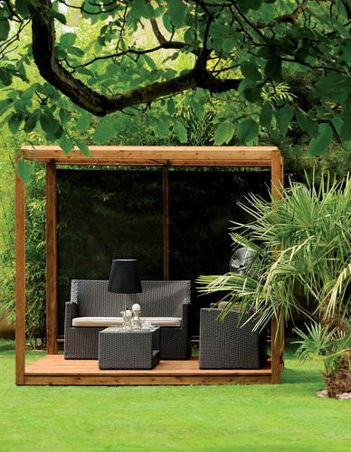 selbsttragende pergola aus holz cubik burger garten pergola garden und building a pergola. Black Bedroom Furniture Sets. Home Design Ideas