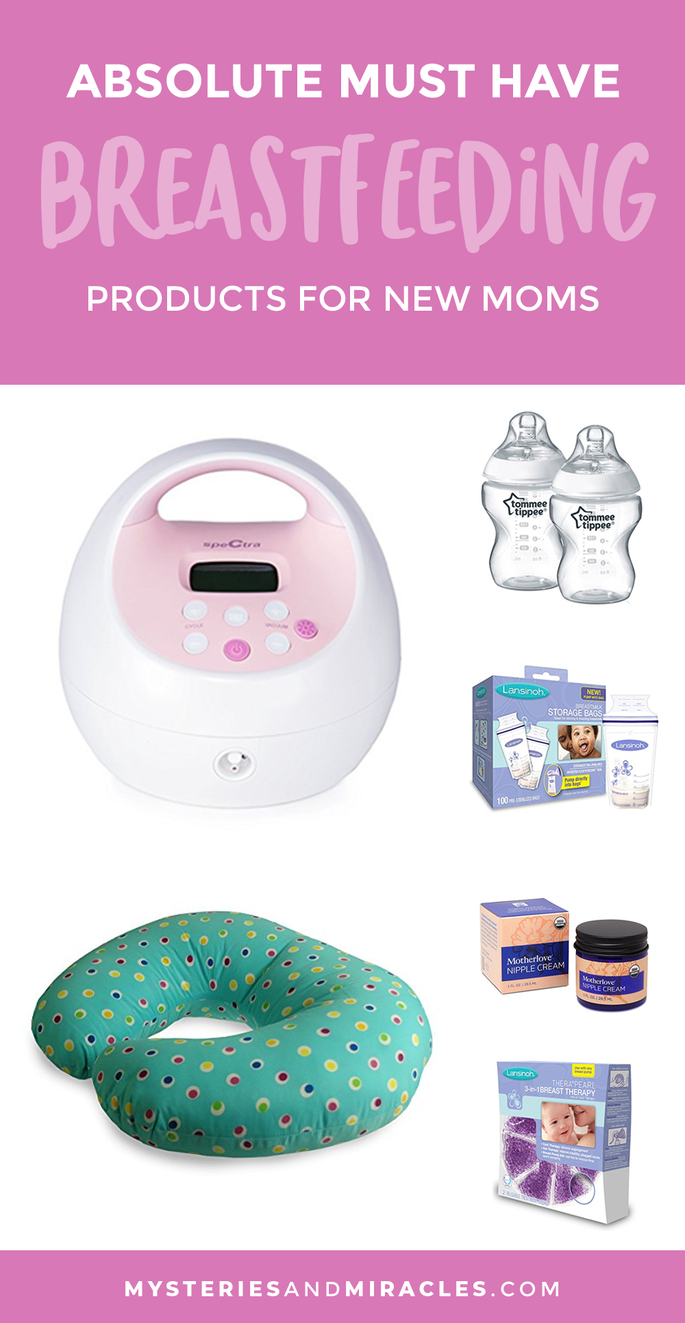 Must Have Breastfeeding Products for New Moms » Mysteries ...