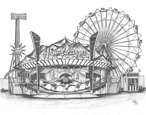 Carnival Rides Coloring Pages Az Coloring Pages Coloring Pages Carnival Rides Color