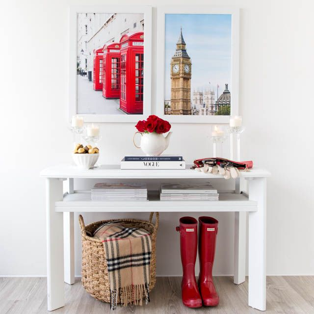 Entrance Way Decor | London Photography Prints by Annawithlove Photography