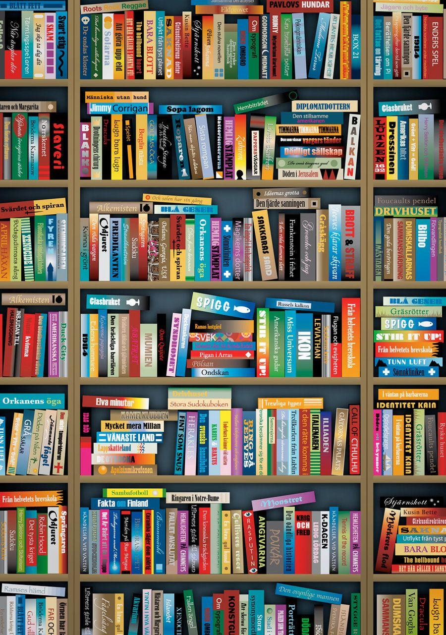 old bookshelves | Bookcase Vector
