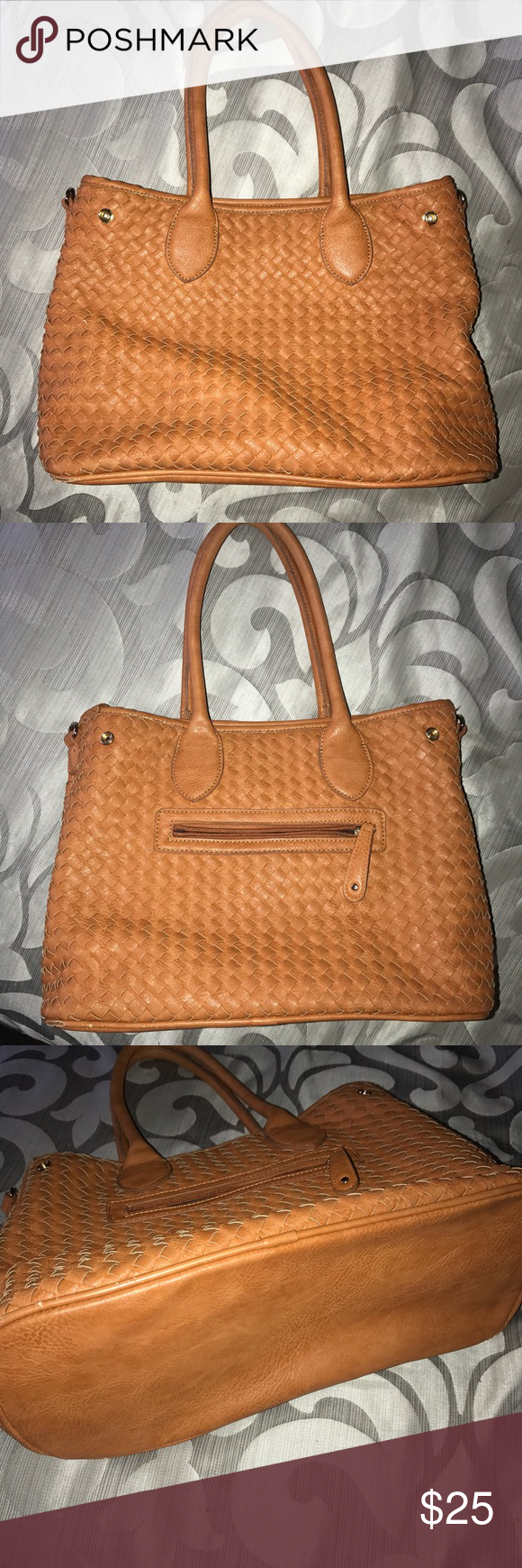 Street Level Purse Shoulderbag Great condition other than wear on couple bottom corners Street Level Bags Shoulder Bags