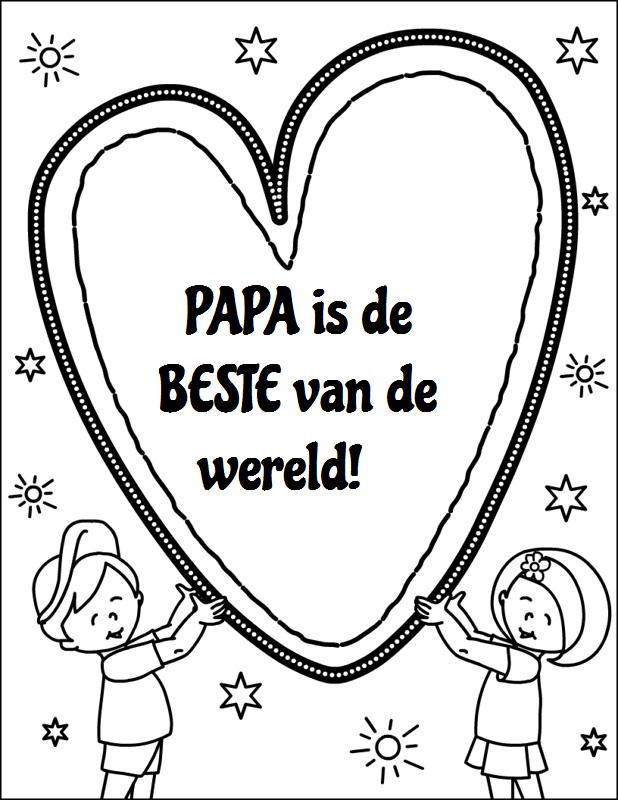 Iets Nieuws verjaardag papa knutselen - Google zoeken | Kleurplaten | Pinterest @SZ05
