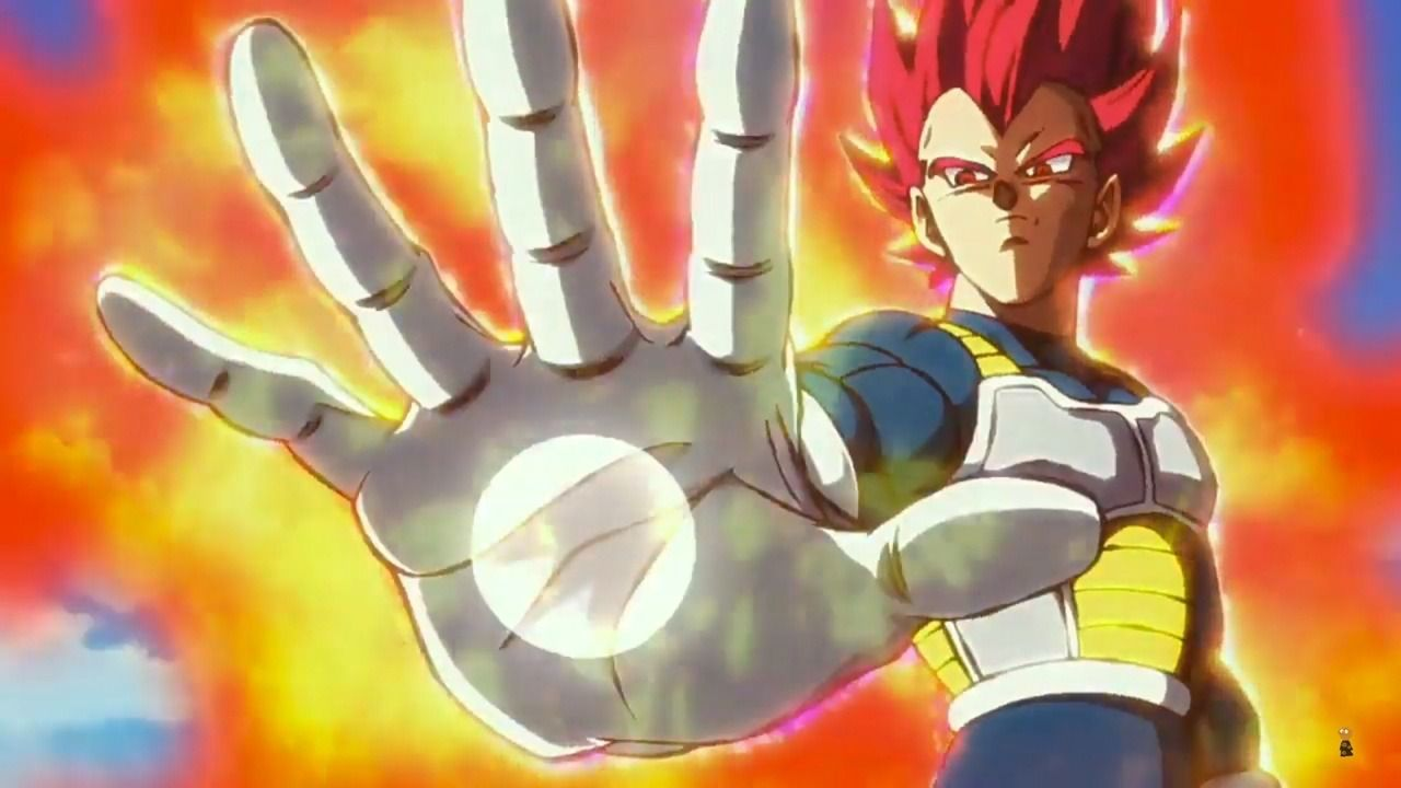 Dragon Ball How Vegeta Achieved Super Saiyan God With Images