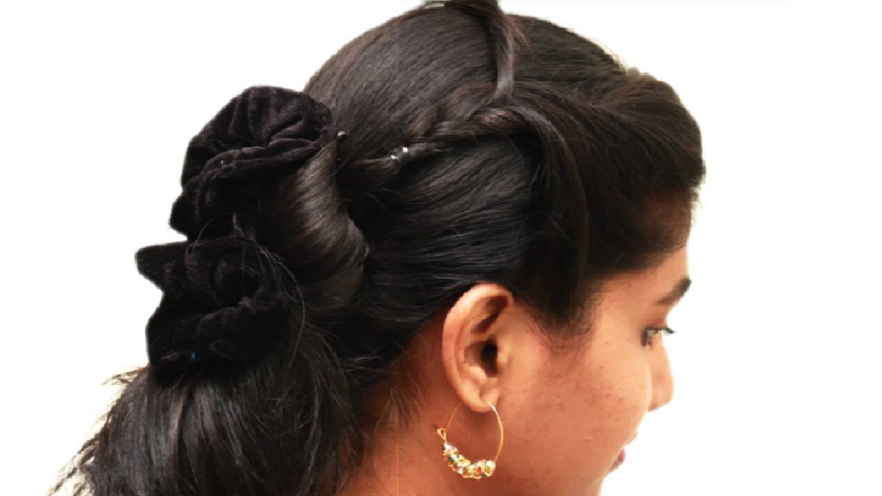 latest hair style for school girls step by step tutorial 2018