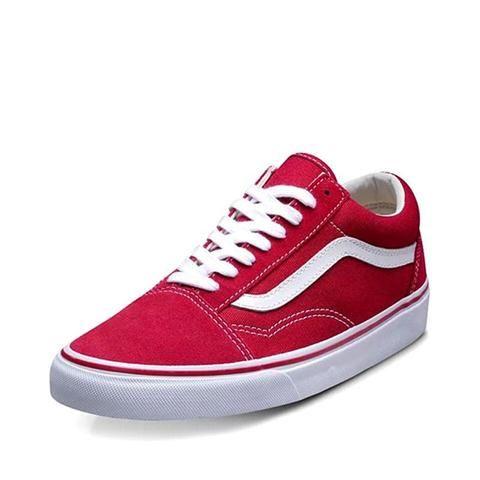 VN0VOKDIC Men   Women s Skateboarding Shoes-Flat-VANS-VN-0D3HBKA-36-TouchyStyle  Original Vans Old Skool Red Colour Low-Top Men   Women s Skateboarding Shoes  ... 622d5ea1f