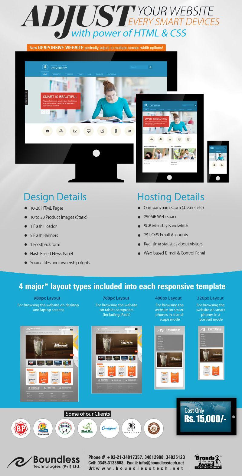 Responsive Html Cms Based Website Designing Development For Karachi Best Company Website Design Web Design Packages Ecommerce Website Design