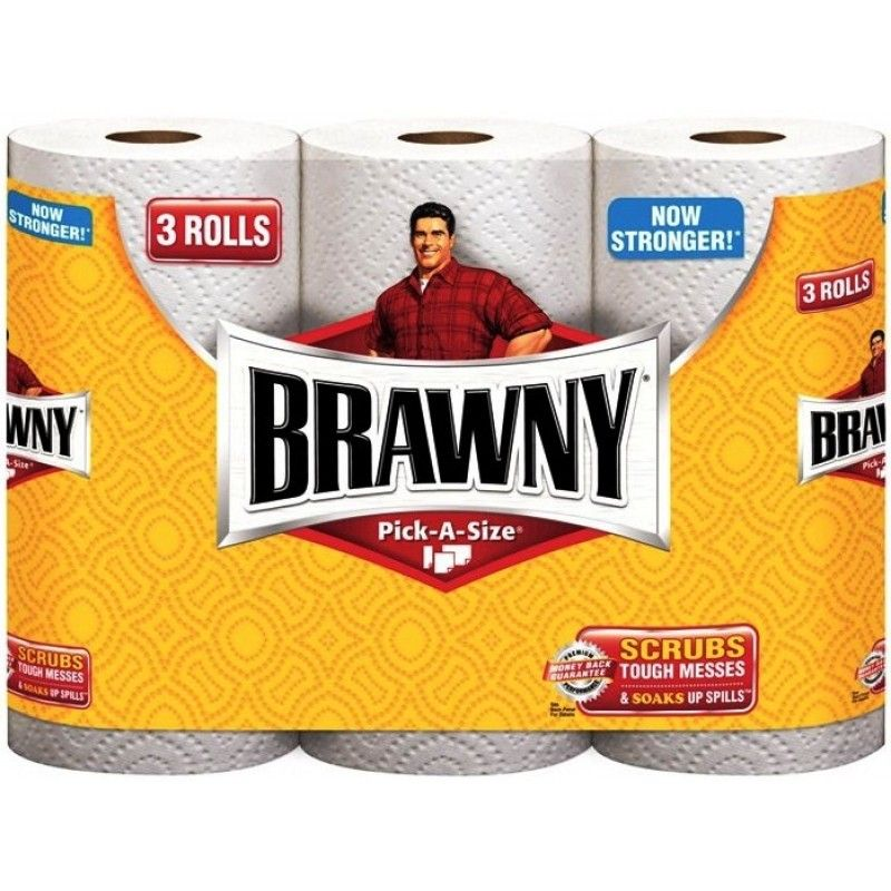 Papergoods Com Brawny Pick A Size 76 Sheets Paper Towels Napkins Kitchenware Paper Towel Print Coupons Printable Coupons