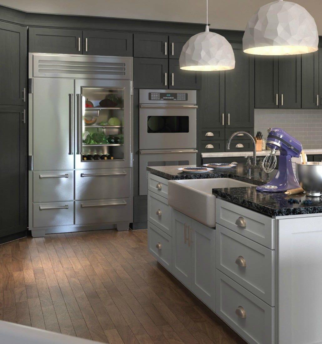 Best Natural Grey Shaker Sample Door In 2019 New Kitchen 400 x 300