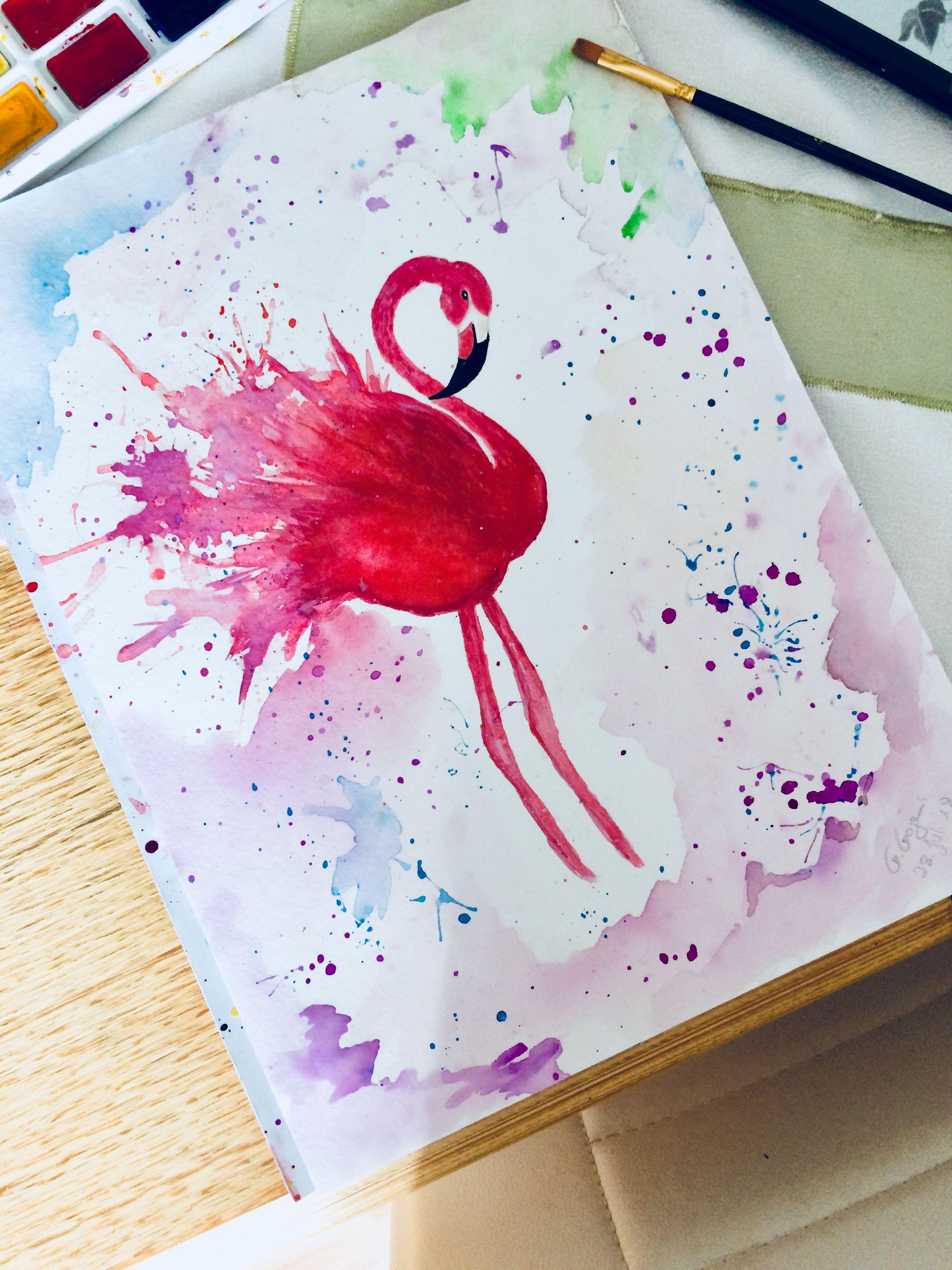 Aquarell Malen Zeichnen Zeichnungen Kreativ Geschenk