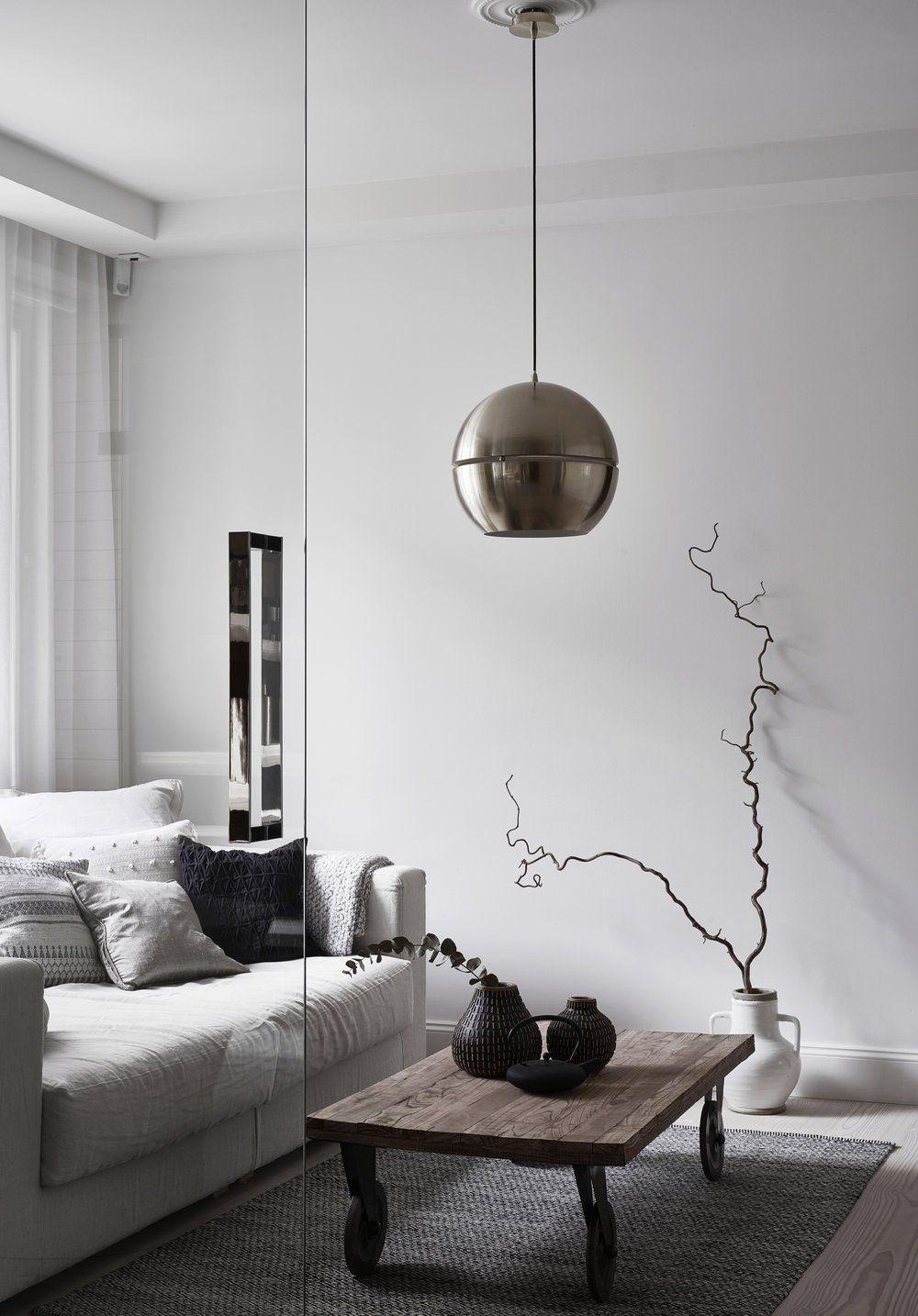 A bright white Finnish Home - via Coco Lapine Design blog | Living ...