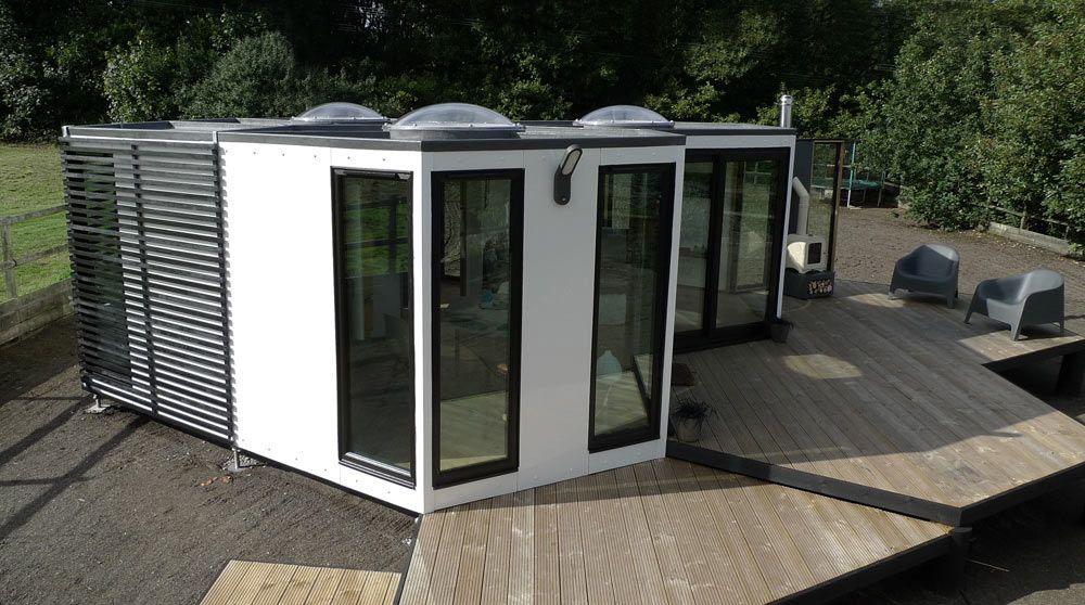Hivehaus Compact Modular House Barry Jackson 1 Modern Tiny
