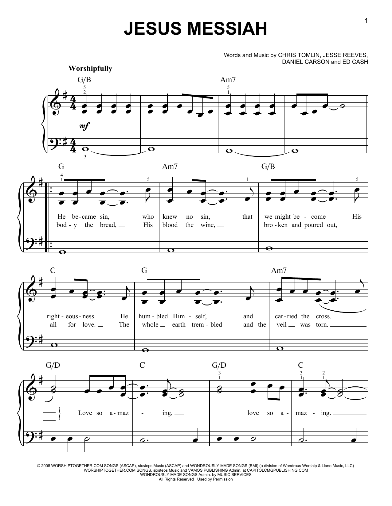 none but jesus chords pdf g