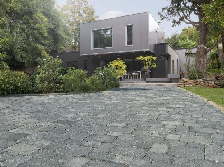 Pave Allee De Garage All E Pas Cher Design Maison Davidreed Co En 2020 Revetement Terrasse Paves Exterieur Revetement Sol Exterieur