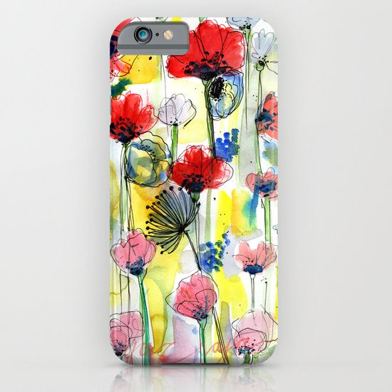 Deal of the day - 27th apr - poppy floral mobile phone case for only 9.99 GBP email yazraja@gmail.com to order