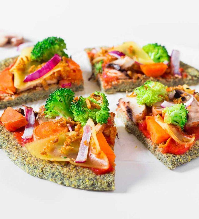Pâte à Pizza aux Lentilles   Vegan, Sans Gluten   Recette