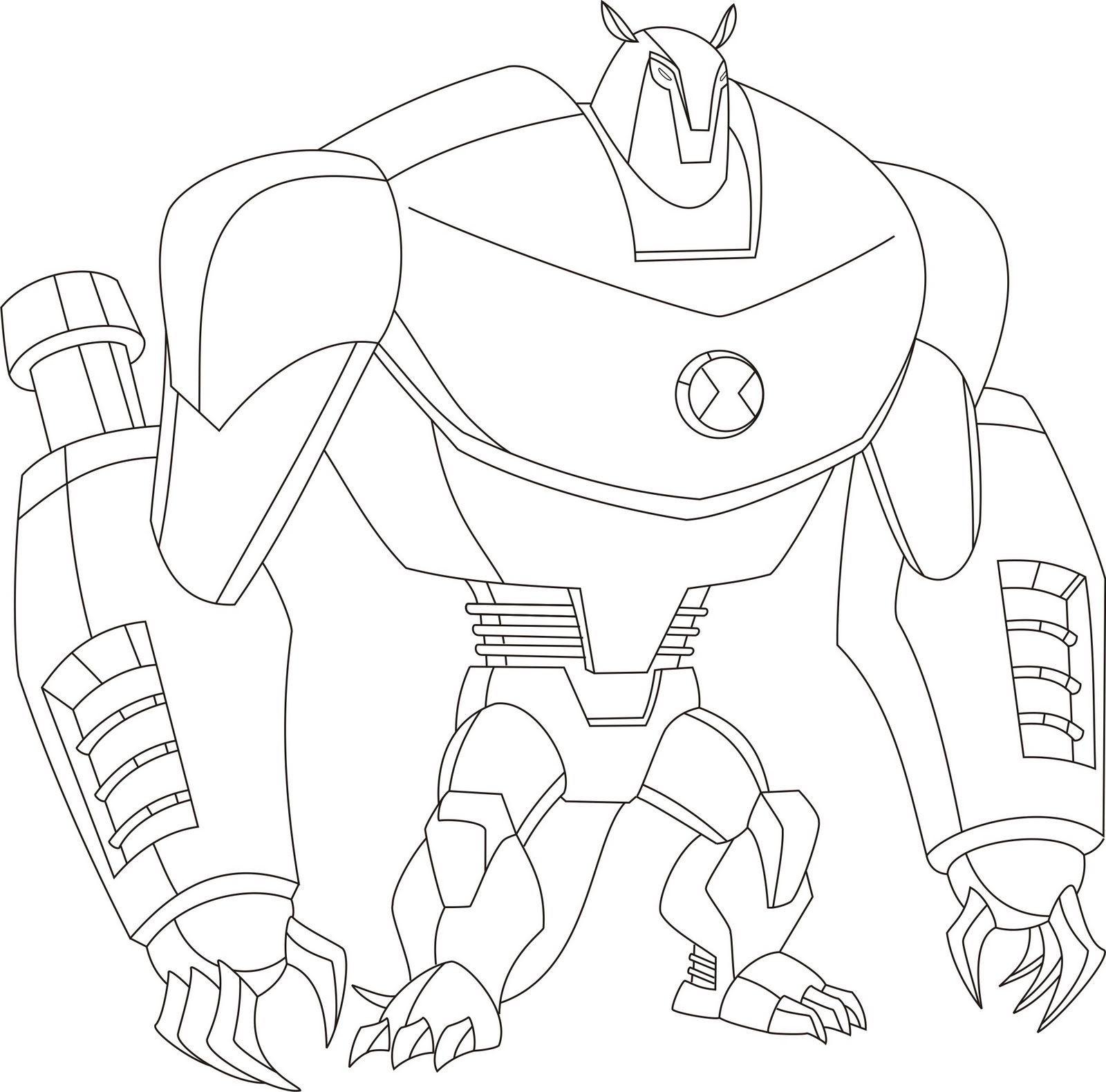 Ben 10 Ultimate Alien Coloring Pages Okul Oncesi