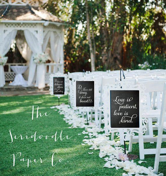 1 Corinthians 13 Wedding Invitations: Printable 1 Corinthians 13:4-8 Eight By SeridoodlePaperCo