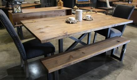Exceptionnel Atico (Dallas, TX) Custom Industrial Furniture Designer. $850 Dining Table  ONLY