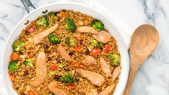Curried Chicken & Vegetable Couscous