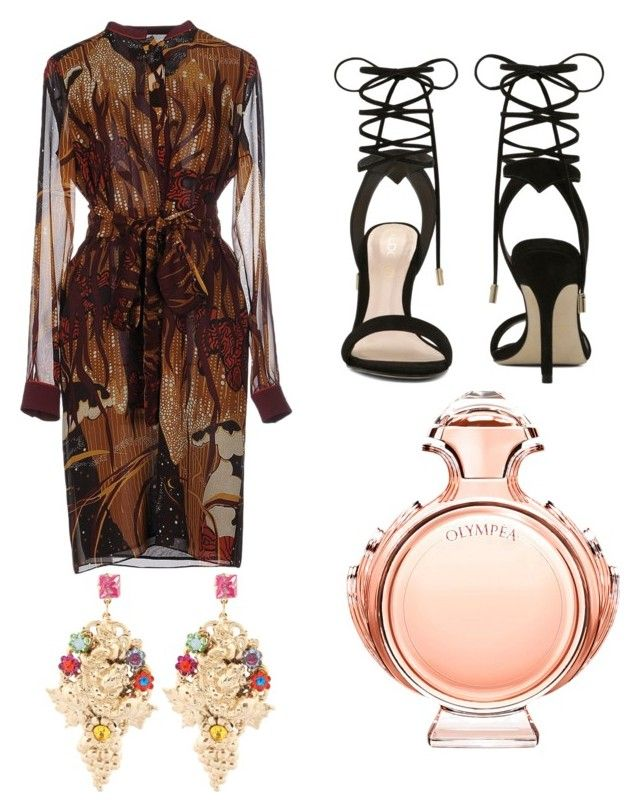"""""""En rosé"""" by girlabdullah ❤ liked on Polyvore featuring Gucci, ALDO, Halo & Co., Paco Rabanne, women's clothing, women's fashion, women, female, woman and misses"""