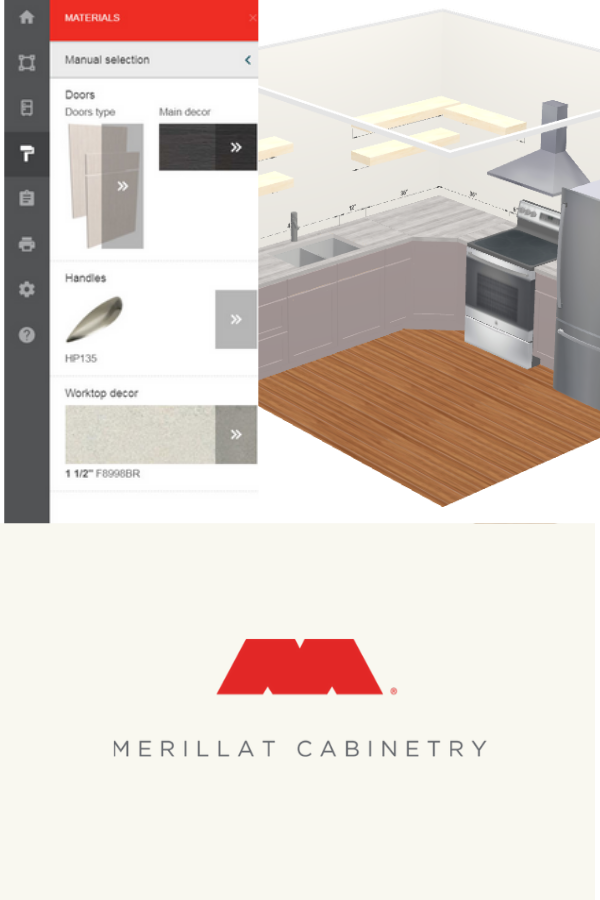 This Merillat Tool Is Designed To Help You Come Up With A Kitchen Floor Plan For Your Account Project Virtual Kitchen Designer Kitchen Planner Design Remodel