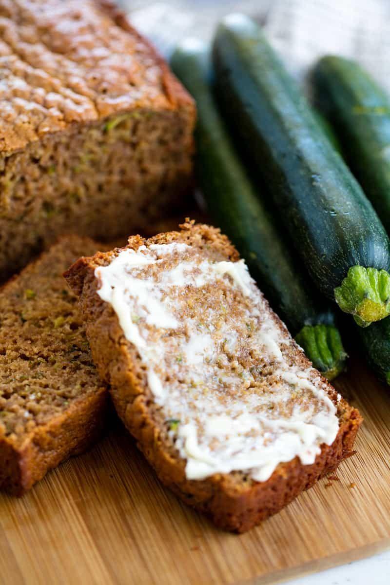 Healthy Zucchini Bread Recipe Breakfast In Bed Pinterest