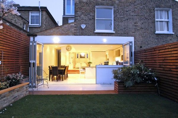 Victorian Semi Detached House Side Return Extension
