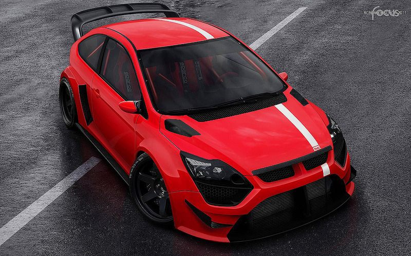 Ford Focus Harpoon Rs By Rc82 Workchop Ford Focus Ford Focus Hatchback Ford Focus Rs