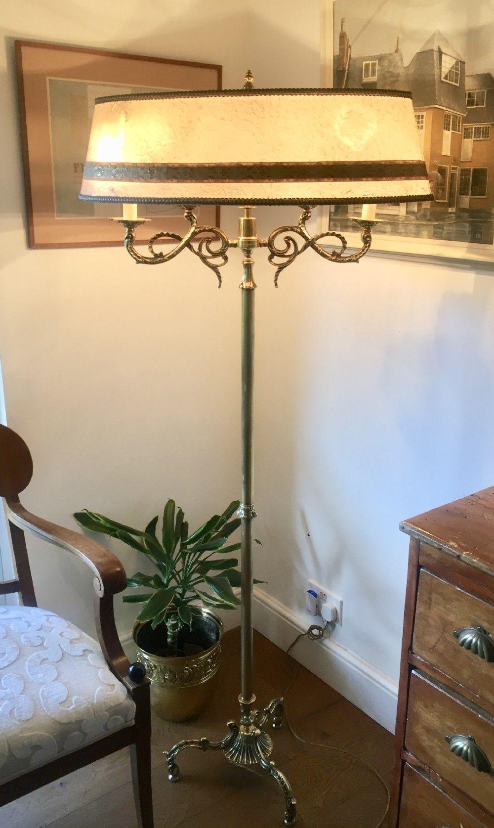 La Belle Epoque Standard Lamp Bronze 646388