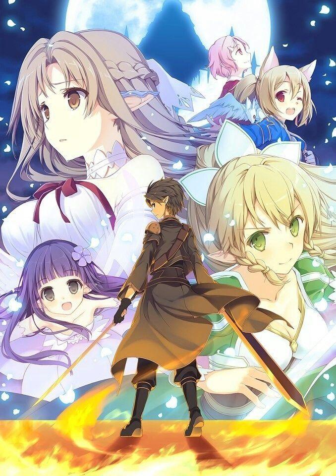 Sword art online Anime, Manga anime, Imagem de anime