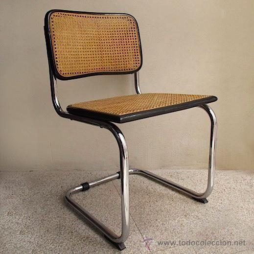 Silla cesca breuer vintage rejilla enea bauhaus sillas for Muebles de cocina bauhaus