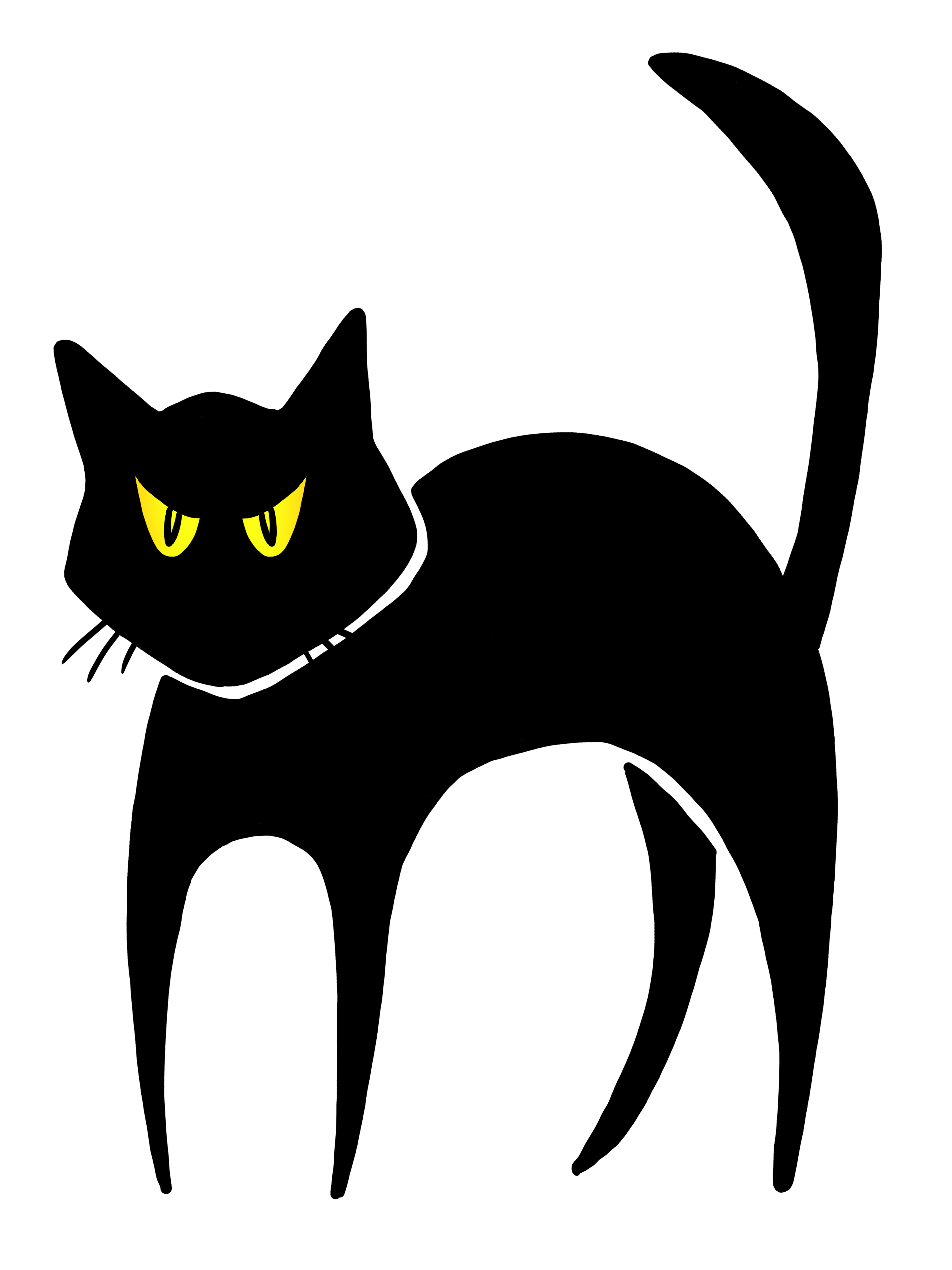 hight resolution of halloween black cat clipart clipart panda free clipart images