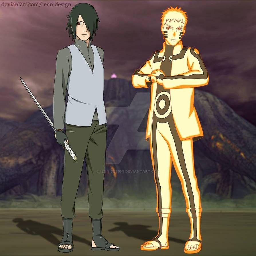 Boruto Naruto Next Generation Naruto And Sasuke By Iennidesign On