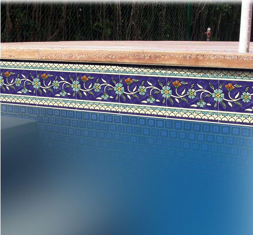 Impressive Swimming Pool Border Tiles Designs 810 X 750