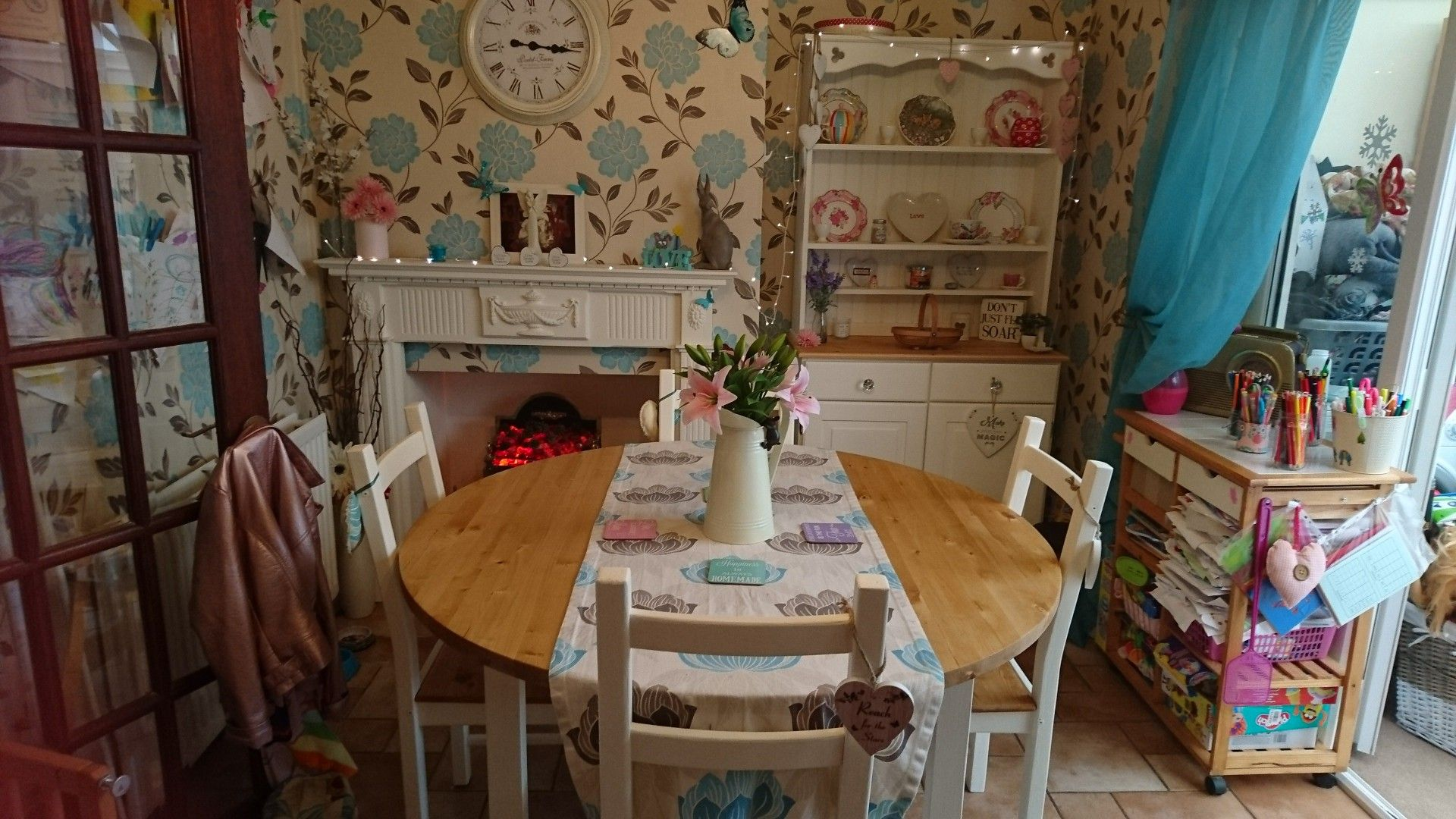 Upcycled table, Chairs and dresser!!