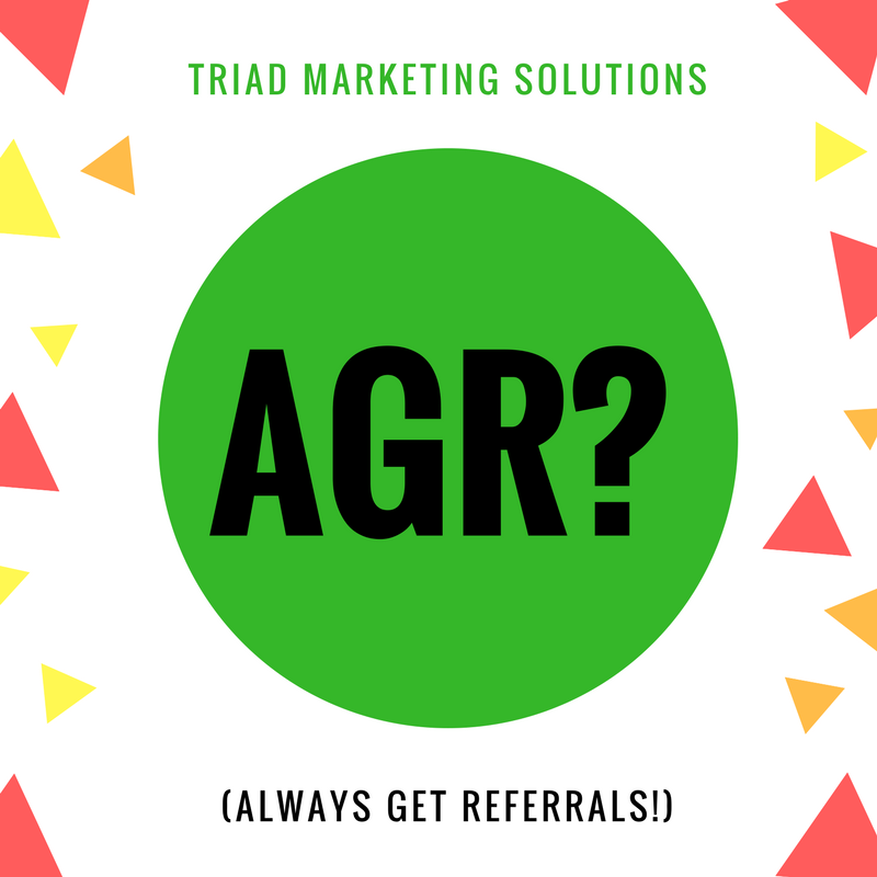 Do you AGR? If NOT you could be missing out BIG time