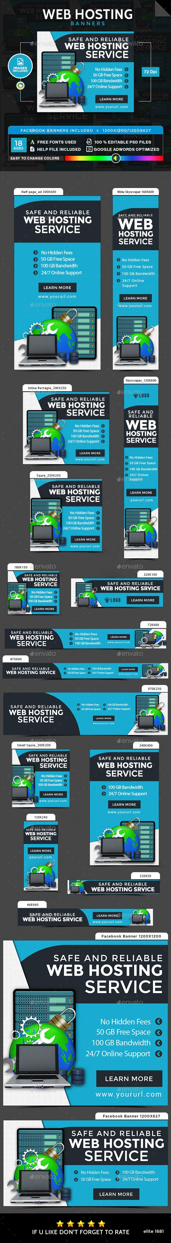 Free web hosting no banner - Web Hosting Banners Images Included