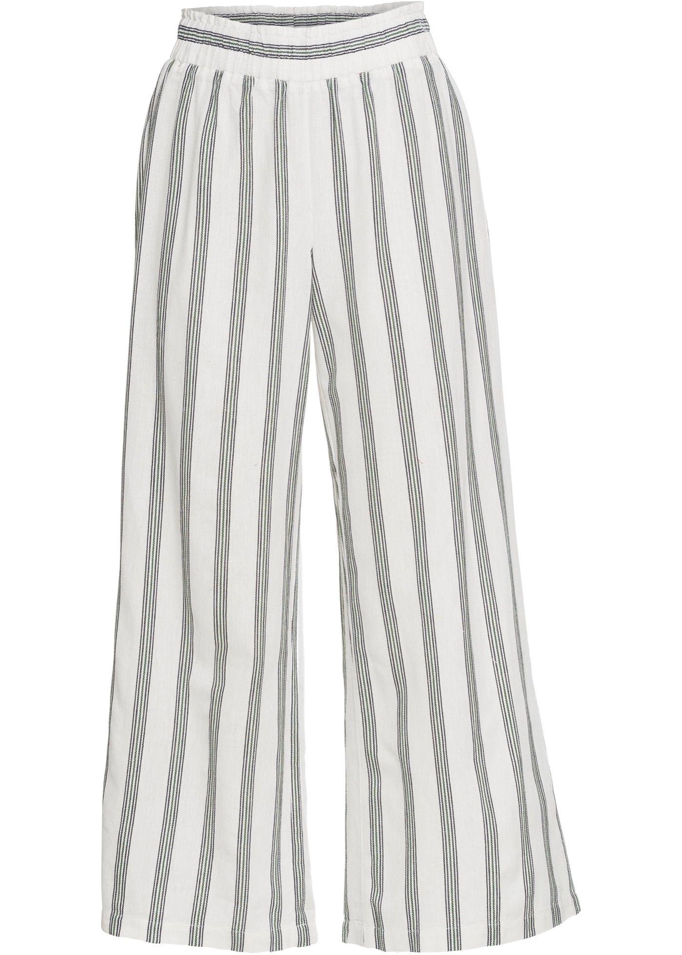 Hose Mit Streifen Gestreifte Hose Outfit Und Hosen