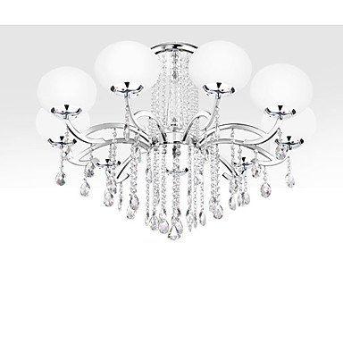 KJLARS Kristall-Kronleuchter Luxus-moderne Style Pendellampe ...
