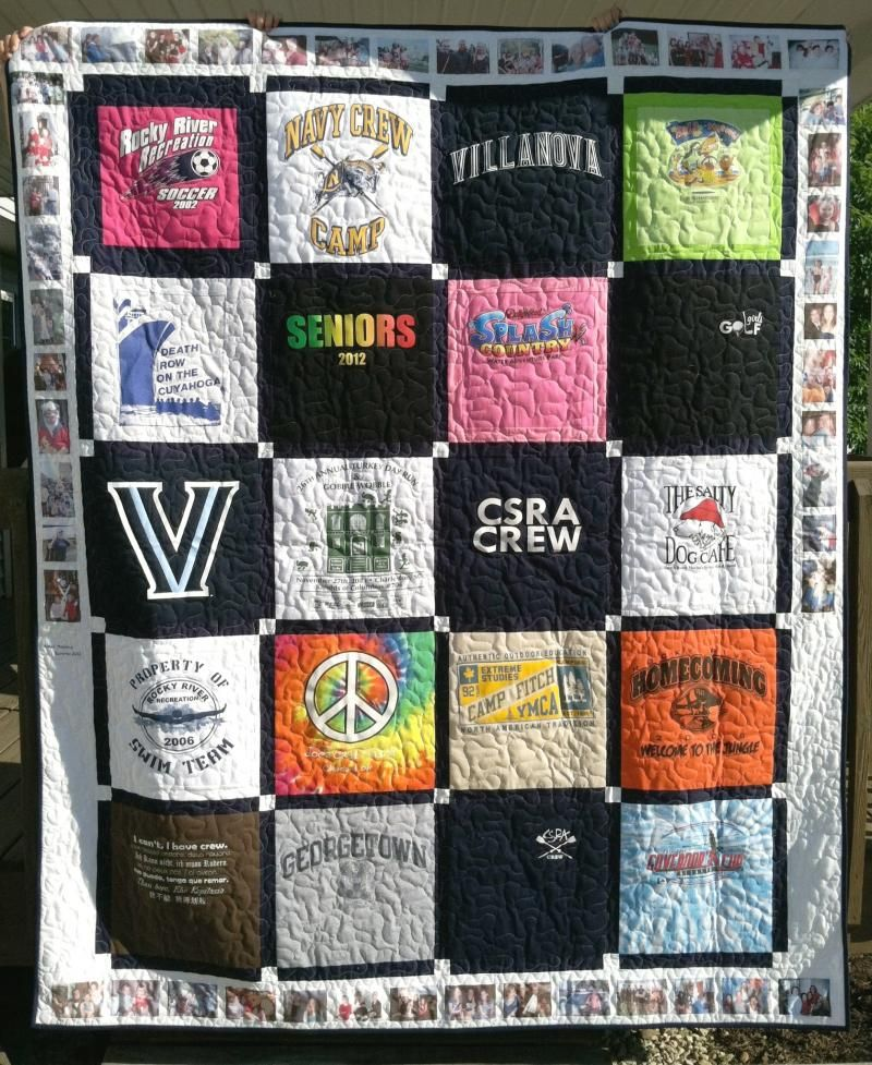 memory quilts | T-Shirt Memory Quilt | tshirt quilts | Pinterest ... : pictures of tshirt quilts - Adamdwight.com