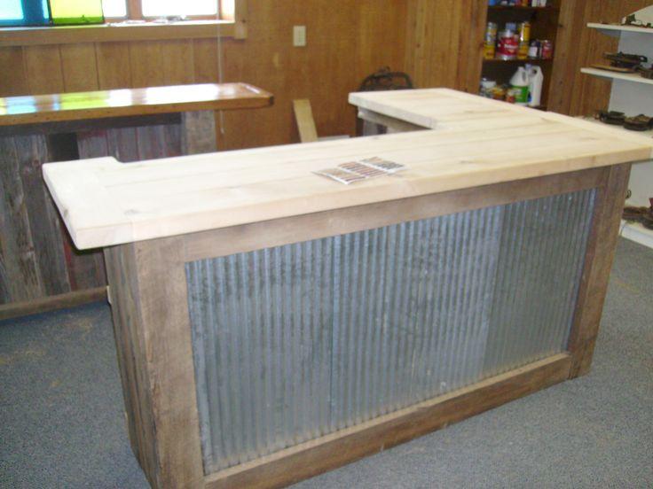 25 Outdoor Bar Ideas And Amazing Deck Design Ideas Bar Furniture L Shaped Bar Wooden Pallet Bar