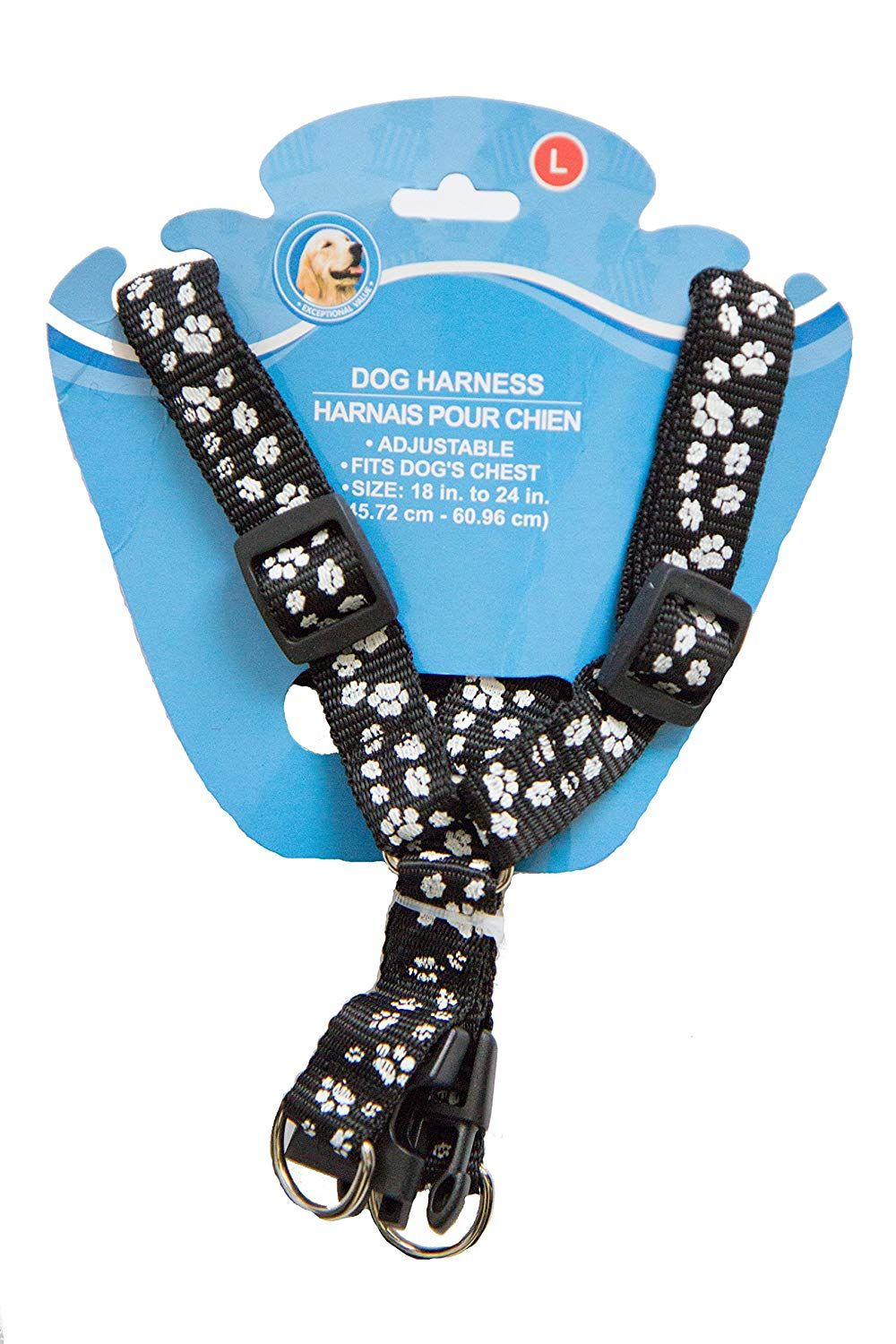 Black friday special cute adjustable paw print dog